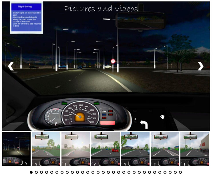pictures and videos driving simulator