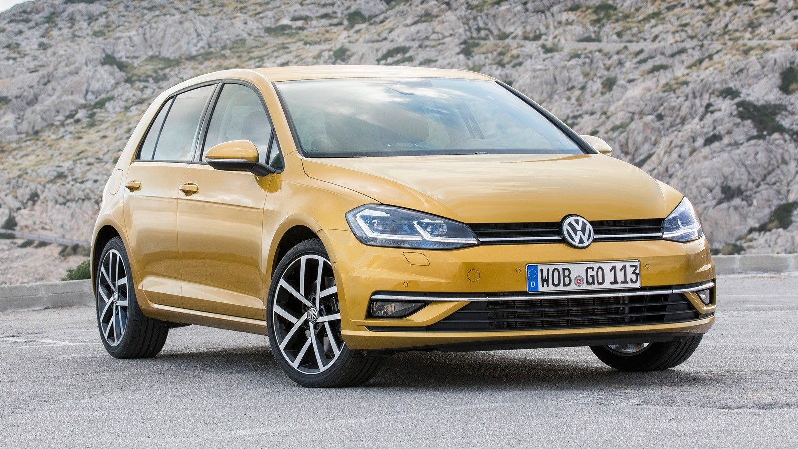 На фото: Volkswagen Golf
