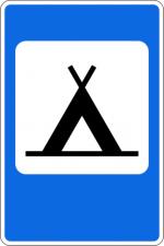 Кемпинг дорожный знак – Дорожный знак 7.10 «Кемпинг» | Пдд онлайн