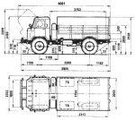 Газ 66 габариты – ГАЗ-66: технические характеристики